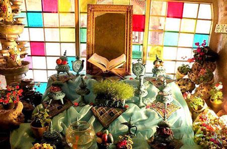 عکس هایی از مدل سفره هفت سین عید نوروز 93