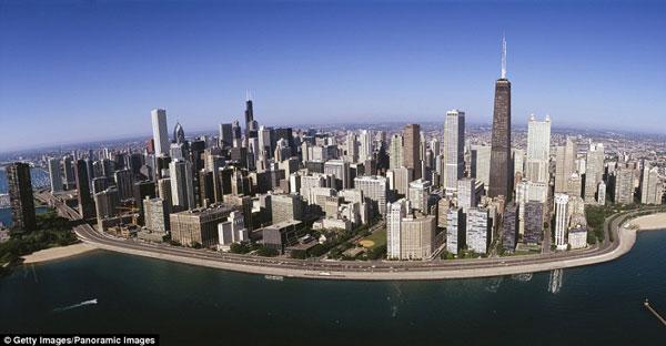 عکس رویایی و شگفت انگیز از شیکاگو (عکس)