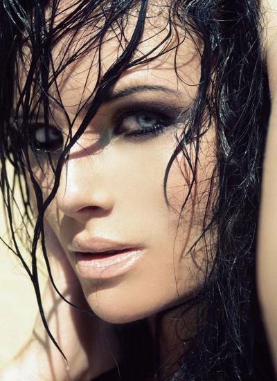 مدل موی خیس