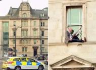 روش عجیب اعتراض به رای دادگاه (عکس)