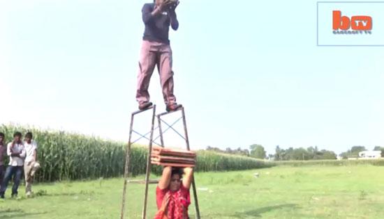 اقدام شگفت انگیز این زوج عجیب هندی (عکس)