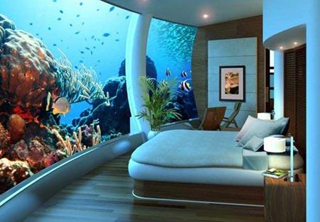 مکان های عجیب دریایی برای زندگی کردن (عکس)