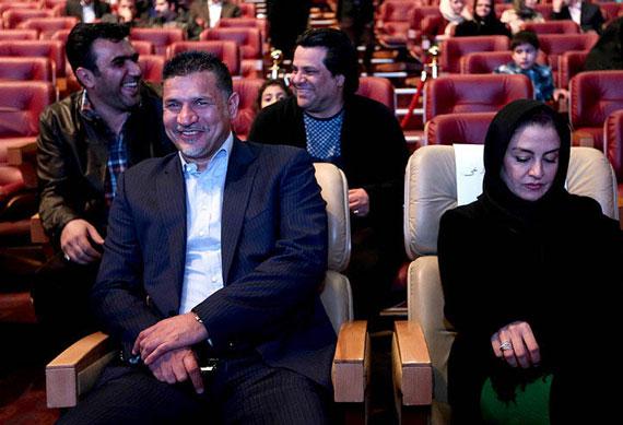 چهره جالب علی دایی در کنار مریلا زارعی (عکس)