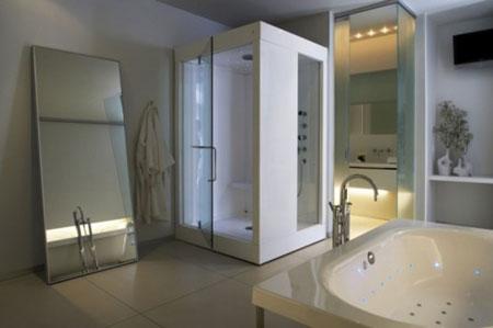 مدل سرویس بهداشتی دستشویی و حمام - سری اول