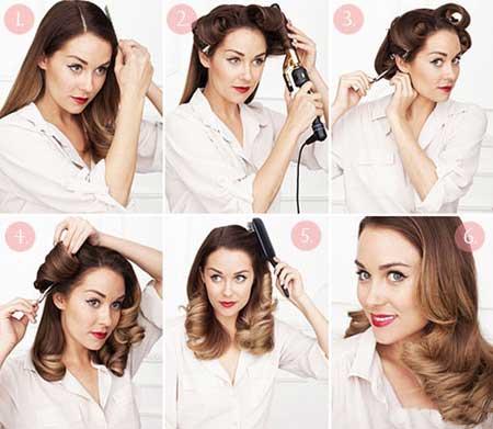 مدل موهای مختلف برای عید نوروز