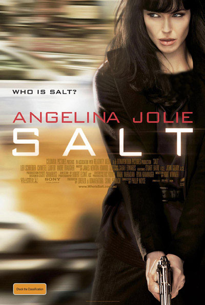 قسمت دوم فیلم سالت با بازی آنجلینا جولی + عکس