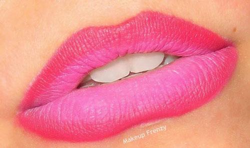 عکس هایی از مدل آرایش لب با رژ قرمز