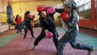 عکس های دیدنی از زنان بوکسور در افغانستان