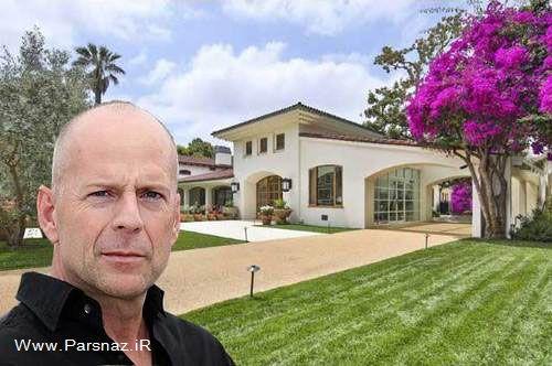 زیباترین خانه های میلیاردی بازیگران معروف جهان + عکس
