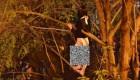 اقدام عجیب فرار دختر بی بندوبار از دست پلیس (عکس)