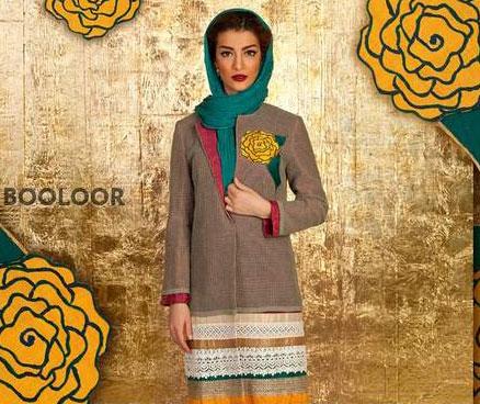 مدل های جدید و زیبای مانتو ایرانی