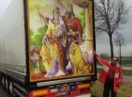 اقدام زیبا و جالب این مرد ایرانی در اروپا (عکس)