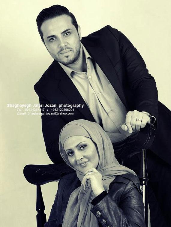 عکسهای پدرام کریمی و همسرش مجری برنامه تلویزیونی