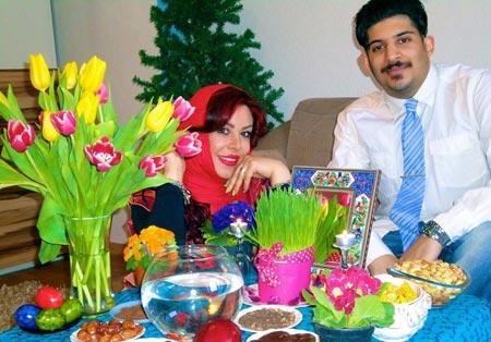 عکس های بازیگران معروف ایرانی در کنار سفره هفت سین