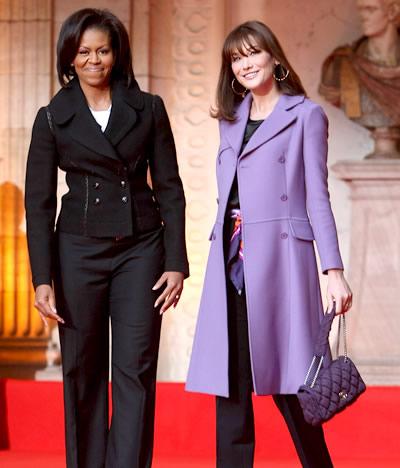 خانم اوباما بانوی اول مد و سلیقه آمریکا است (عکس)