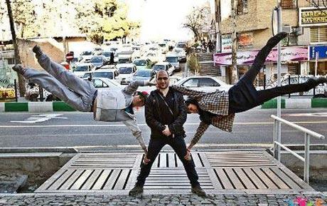 عکس های جالب از دختران پارکور کار ایرانی