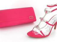 مدل کیف و کفش کریستالی قرمز 2014