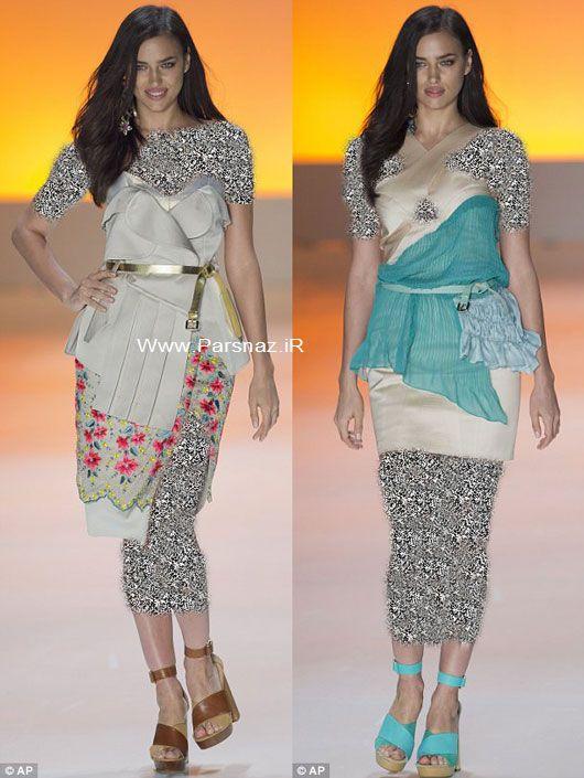 مدل معروف ایرینا شایک نامزد کریس رونالدو در برزیل (عکس)