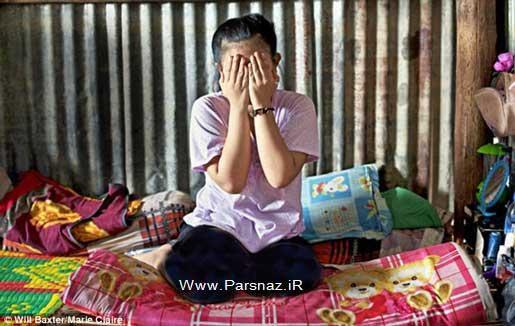 اقدام بی شرمانه مادری که بکارت دختر خود را فروخت (عکس)