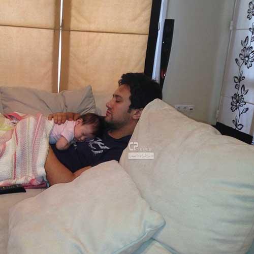 عکسهای جدید از شاهرخ استخری و دخترش