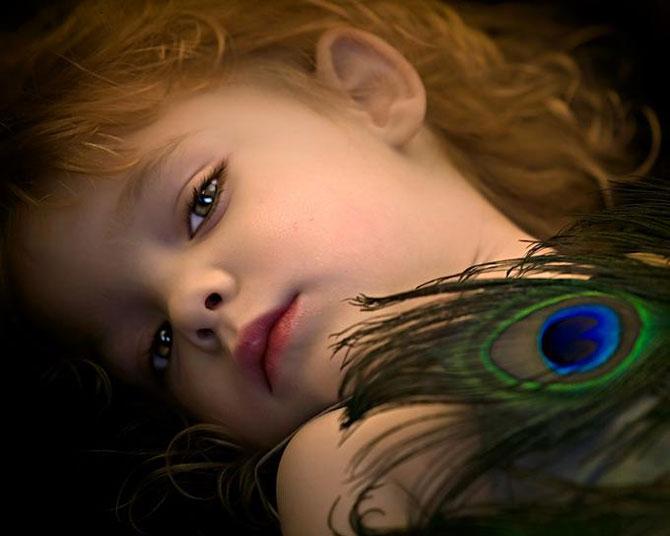عکس های زیباترین دختر بچه جهان در سال 2014