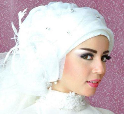 آرایش و مدل تور عروس محجبه