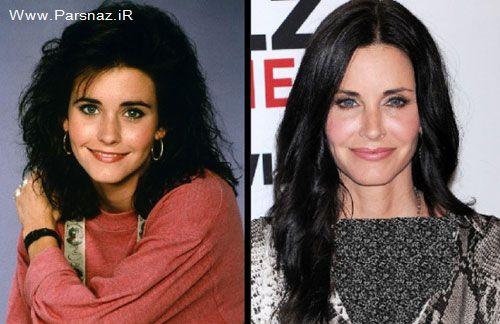 عکس های تغییر چهره زنان ستاره سینما در گذر زمان
