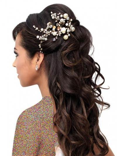 جدیدترین مدل های شنیون عروس 2014