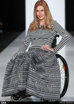 زنان و مردان معلول مدل در روسیه +عکس