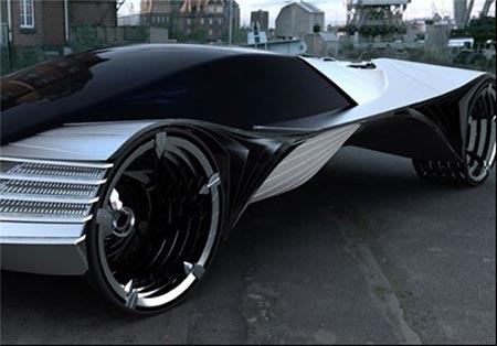 سوخت جالب این اتومبیل زیبا 100 کار می کند +عکس