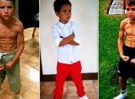 پسر بچه هرکول در فیسبوک جنجالی شد (عکس)
