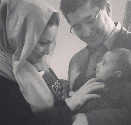 عکسهای جدید شیلا خداداد در کنار پسر و همسرش