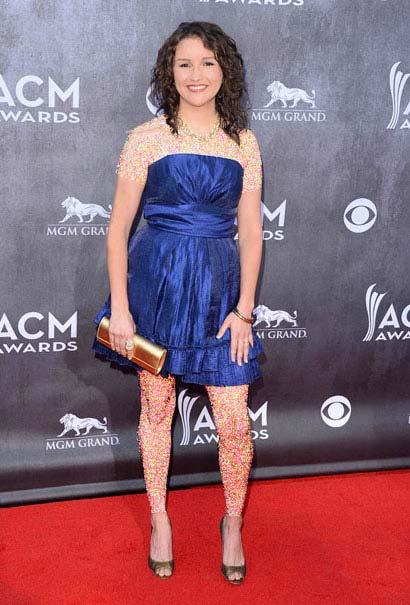 عکسهای هنرمندان هالیوود در مراسم ACM AWARDS