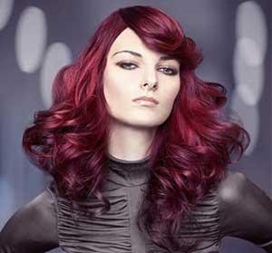 جدیدترین مدل های رنگ مو -سری جدید