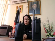 نخستین خانم رئیس پلیس افغانی (عکس)