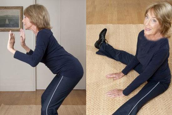 آموزش رقص و ورزش این خانم 88 ساله (عکس)