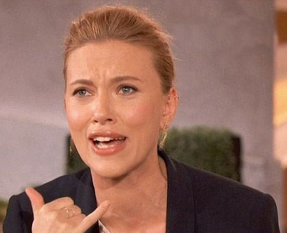 اضافه وزن اسکارلت جوهانسون بازیگر زن زیبا بخاطر بارداری
