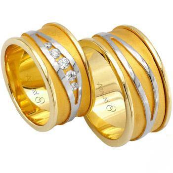 مدل های حلقه عروس و داماد - سری اول
