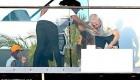 برهنه شدن خواننده معروف ریحانا + عکس