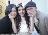 عروسی احساسی و متفاوت برای دختر 11 ساله (عکس)