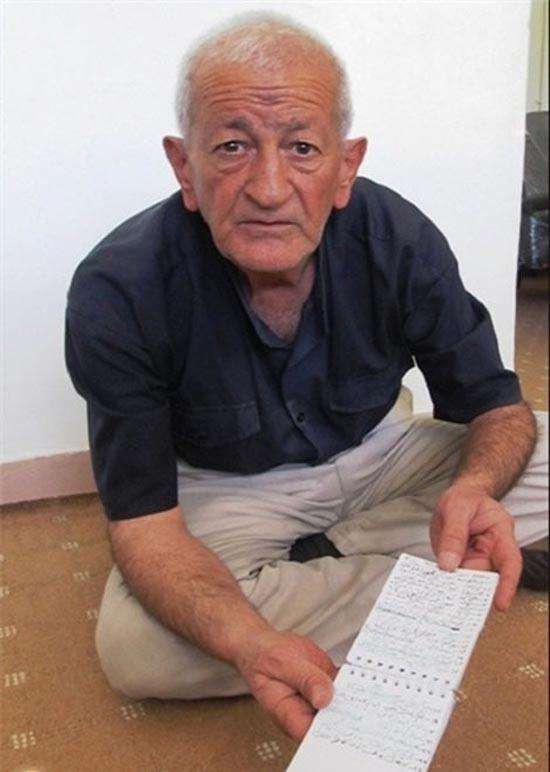 این مرد ایرانی عزرائیل را تعقیب می کند +عکس