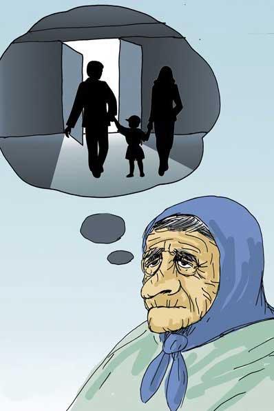 کاریکاتورهای خنده دار و دیدنی به مناسبت روز مادر