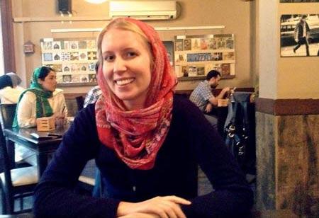 گفته های این خانم آمریکایی از سفر به ایران (عکس)