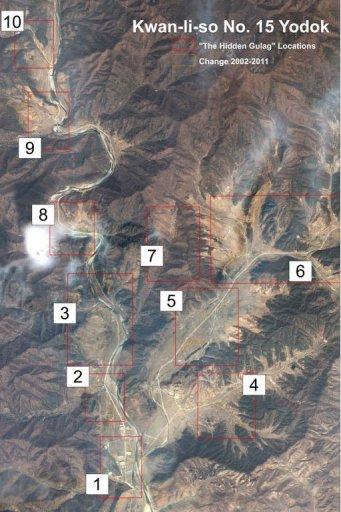 زندانی بسیارمخوف در کوه های کره شمالی..عکس
