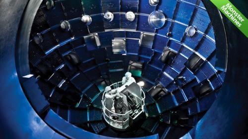 قوی ترین لیزر جهان.. (عکس)