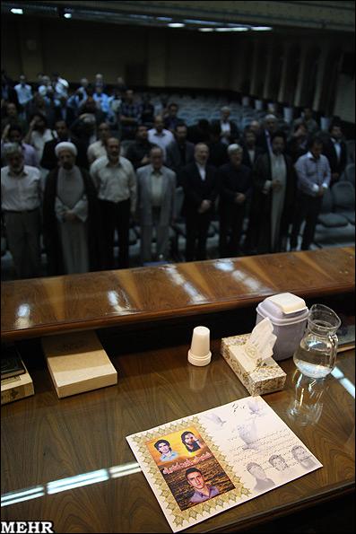 عکس هایی از مراسم بزرگ داشت قربانیان جنایت بازداشتگاه کهریزک