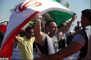 عکس هایی از روح الله داداشی در مسابقات