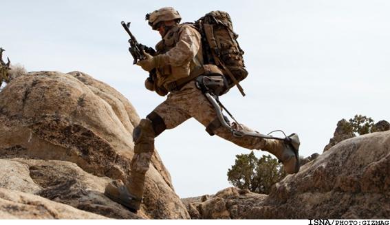 پوشش روباتیک سربازان با توانایی خاص..(عکس)