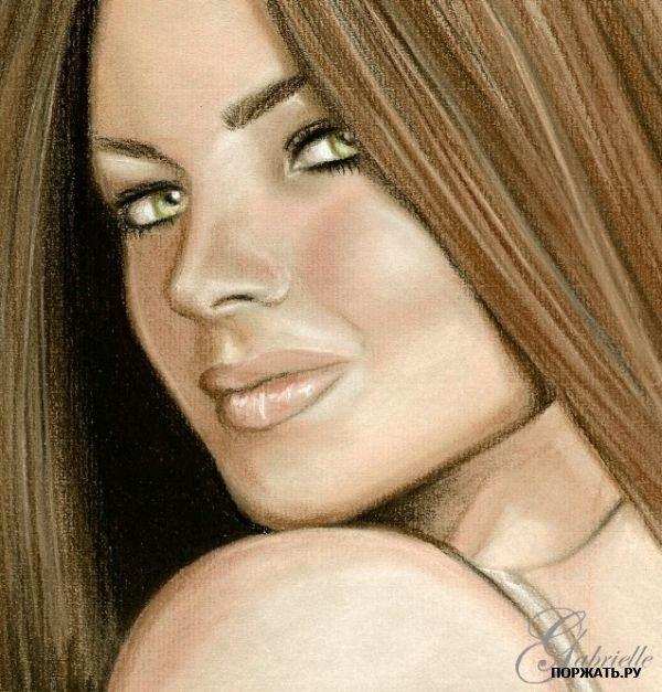نقاشی های زیبا از چهره با مداد..!