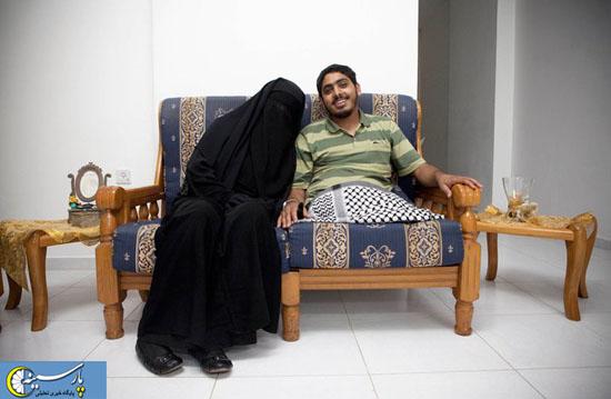 ژورنالیستی که در بیمارستان عاشق همسرش شد..عکس